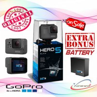 [BONUS] GOPRO Hero 5 BLACK - Action Camera GO PRO GARANSI 1 Tahun