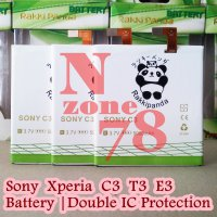 [Promo Hari Ini] BATERAI SONY XPERIA C3 T3 E3 D2533 RAKKIPANDA DOUBLE POWER PROTECTION