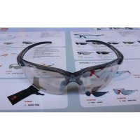 Kacamata Safety KING'S KY 713 Clear / Silver Mirror Lens
