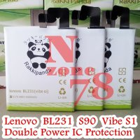 [Gold Product] BATERAI LENOVO VIBE S1 S90 BL-231 DOUBLE POWER PROTECTION