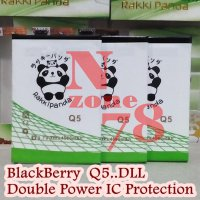 (Promo Gajian) Baterai Blackberry BB Q5 Rakkipanda Double Power Protection