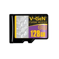 V-Gen Micro SD 128GB Class 10 Turbo Series Non Adapter (Original)