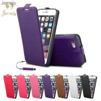 [globalbuy] Flip Leather Back Cover For Apple iPhone 6 6S 7 Plus SE 4S 5C 5S Phone Case Fu/4229781