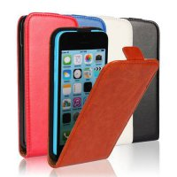 [globalbuy] Classic PU Leather Flip Case for iPhone 5c Cover iPhone 5c Case Cover for Appl/4229775