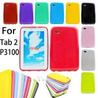 [globalbuy] Case For SAMSUNG Galaxy Tab 2 7.0 7 inch P3100 P3110 Slim Silicone Rubber TPU /4502713