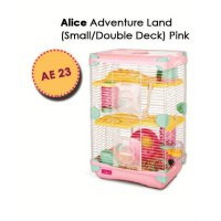 Promo Kandang Hamster / Adventure Land For Hamster Double Deck AE23