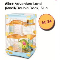 Dijual Kandang Hamster / Adventure Land For Hamster Double Deck AE24