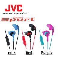 Original JVC HA-ENR15 Gumy Sport Earbuds With Mic Headset (No Box)
