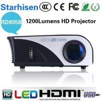 Projector / Proyektor Mini Portable Rd805b 1200lumens