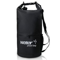 Outdoor Waterproof Dry Bag 10 Liter with Extra Pocket (TAS ANTI AIR)