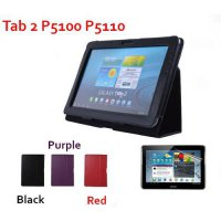 [globalbuy] Folid Stand luxury leather case For Samsung Galaxy Tab 2 10.1 P5100 P5110 Cove/4311264