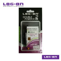 LOG-ON Battery For Sony Xperia Z1 Compact / Z2 Compact - 3200mAh DoublePower & IC - Garansi 3 Bulan