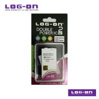 LOG-ON Battery For Nokia Lumia 730 / 735 - 3200mAh DoublePower & IC - Garansi 3 Bulan