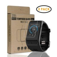 [globalbuy] Qosea For Garmin Vivoactive HR(2 PACK)Tempered Ultra-thin Glass 9H Clear Scrat/4227106