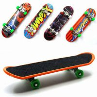 [globalbuy] 10 Pcs Fingerboard Mini Finger Skateboard For Tech Deck Plastic Finger Skate S/4563765