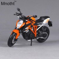 [globalbuy] Mnotht 1:12 KTM 690 Orange Motorcycle Model Diecast Mini Motorcycle Model Vehi/4462918