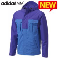 Adidas Originals Jacket / Wind Proof personal learning special hooded jumper hooded jacket for men / AC-G86367