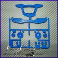 Rep Tamiya 94745 Reinforced Double Roller / Buntut STO (Blue) PS102