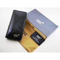 DOMPET WANITA BRANDED IMPORT MONT BLANC DCW8017 BLACK