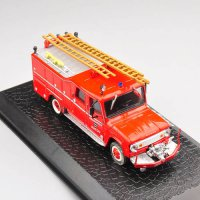 [globalbuy] Alloy Diecast Model Fire Truck Car Toy Altas 1/72 Scale Dodge D-500 Vehicles F/4463442