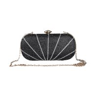 Pretty Party Tas Wanita Clutch Bag A7960 Sateen And Crystal