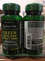 GREEN BEAN COFFEE EXTRACT USA IMPOR 800 MG ISI 60 PURIT