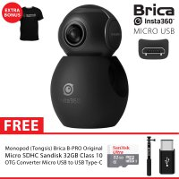 BRICA B-PRO Insta360 / Insta 360 Air USB-C Camera Supreme 32GB - Black