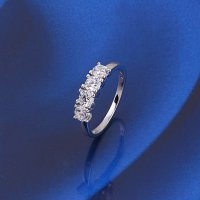 Xuping SJ0642 Cincin 18K Rhodium Plated