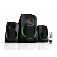 Power Up Speaker 2.1 Subwoofer (FM+USB+TF) - 602 B