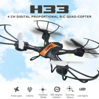 Drone RC Quadcopter JJRC H33 Drone 2.4Ghz 4CH 6-Axis 360 Flip Headless