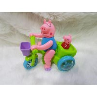 Referensi Mainan Peppa Pig Bicycle Mother And Kids / Pink Bicycle Cute