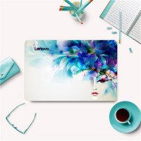 [globalbuy] Laptop Skins For Lenovo Ideapad TianYi 300-15 305-15 Colorful Painting Vinyl D/4298389