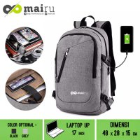 New TN-MR-BP-0219G TAS NOTEBOOK MAIRU Backpack with charger slot 0219 grey Fk4239