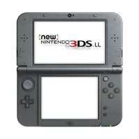 Nintendo 3DS LL CFW New Game Console - Hitam + Micro SD 32GB Full Game