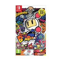 Nintendo Switch Game Super Bomberman R DVD Game