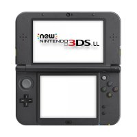 Nintendo 3DS LL CFW New Game Console - Lime + Micro SD 32GB Full Game