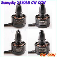 [globalbuy] 4x Original Sunnysky X1806S 2300KV 2000KV Brushless Motor for QAV250 FPV Mini /4447393