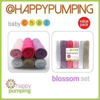 Bedong Baby Chaz Isi 6 - Blossom Set