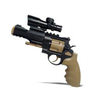 Mainan Pistol Air Soft Gun Top Gear M500 M09 FREE Soft Bullet