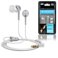 Sennheiser CX200 STREET II Black / White Canal Earphones [SDF genuine warranty included - bass sound / ambient noise isolation