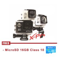 X-Pro 7 Action Camera 12 MP - Putih / Silver / Hitam
