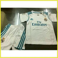 JERSEY REAL MADRID HOME KIDS/ANAK 2017/2018 GRADE ORI