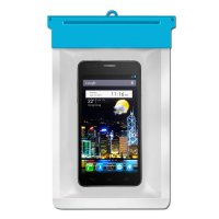 Zoe Waterproof Bag Case For Alcatel OneTouch Flash