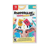 Nintendo Switch Snipperclips Plus Cut It Out Together DVD Game