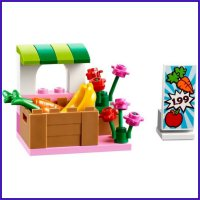 Mainan Edukasi LEGO Juniors 10684 : Supermarket Suitcase