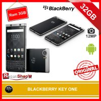 BLACKBERRY KEY ONE 32GB Ram 3GB 12Mp Garansi 1thn Original 100% - BlackBerry KEYone