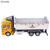 [globalbuy] Niosung 2016 Modern 1:48 Back In The Toy Car Engineering Dump Truck Car Kids B/4466912