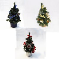 25 cm Pohon Natal mini Christmas Tree gift bonsai ornamen SJ0028