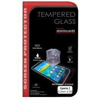 Delcell Tempered Glass for Sony Xperia Z1 Mini Screen Protector