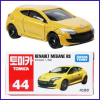 Tomica 44 Renault Megana RS Yellow - Diecast Mobil